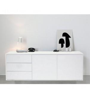 Designerska komoda biała S5-0