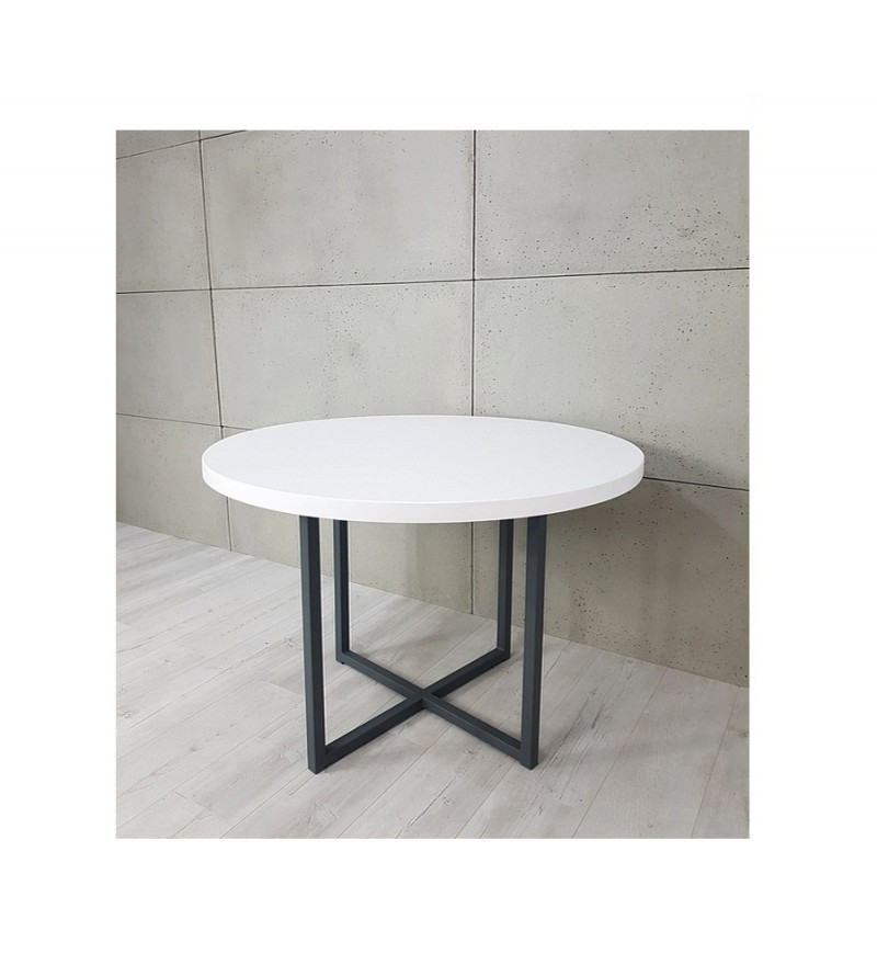 stylowy okrągły stolik