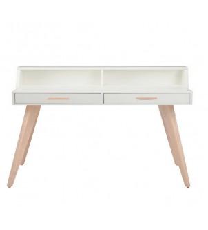 Nowoczesne białe biurko BSM1