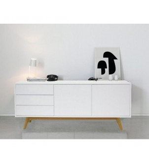 Designerska komoda S5 WHITE